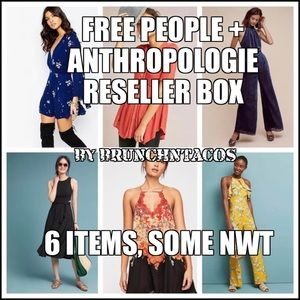 Free People Anthropologie 6 piece mystery box